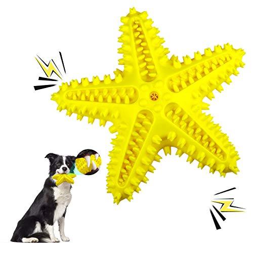 Juguetes Para Perros, Juguetes Para Masticar Perros Chillones, Juguetes De Cepillo De Dientes Para Perros PequeñOs Y Medianos, Kong Perro Interactivos Para Limpieza De Dientes Para Perros (Ama