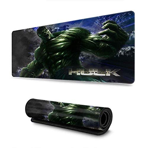 """Avengers Superhero Hulk Mouse Pad Mat Optimized for Gaming Sensors - Designed for Maximum Control Custom for Home and Office 15.7"""" x 35.4"""" inch Photo #3"""