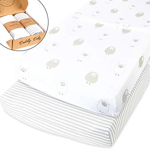 419qQNM36oL - BROLEX Stretchy Changing Pad Covers – Ultra Soft Stretchy Changing pad covers