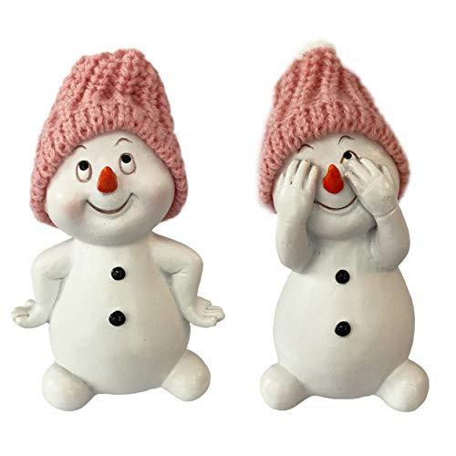 Knüllermarkt 32265 I Deko Schneemann I Schneemänner I Weihnachtdeko Weihnachten I weiß I Tischdeko I Geschenkidee I Winter I Winterlandschaft I Gesteck I Gestecke I