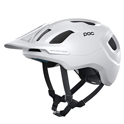 POC Axion Spin, Casco da Bici, M-L (55-58 cm), Bianco (Matt White)