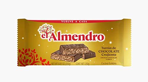 El Almendro Turrón De Chocolate Crujiente Clásico - 250 Gr