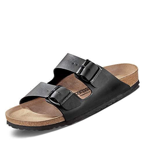 Birkenstock Schuhe Arizona Birko-Flor Schmal Black (051793) 35 Schwarz