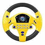 NewIncorrupt Volante Coches de Juguete Conducción simulada Volante Música eléctrica Simulación Música Volante