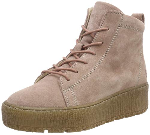 Tamaris Damen 1-1-26256-21 Combat Boots, Pink (Powder 560), 39 EU