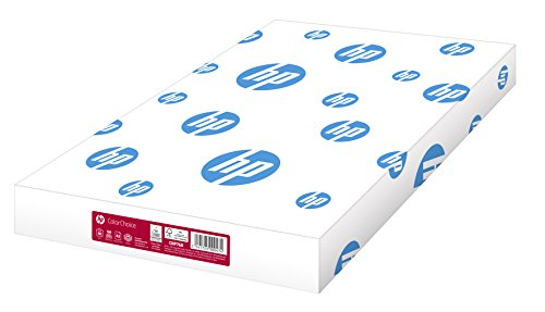 HP Druckerpapier, Farblaserpapier Color-Choice CHP 760: 90 g, DIN-A3, weiß, extraglatt, 500 Blatt – für brillante Farben