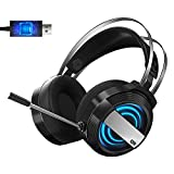 Best Pc Gaming Headsets - Bestor USB Gaming Headset for PC - Computer Review