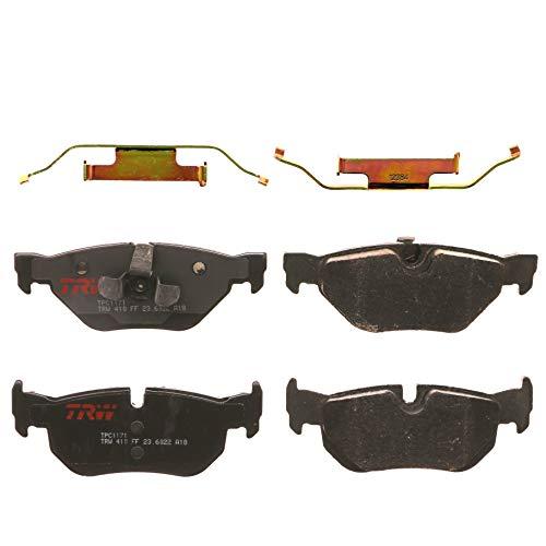TRW Automotive TPC1171 Scheibenbremsbelagsatz, für BMW 328i 2007 - 2013 und andere Anwendungen, hinten