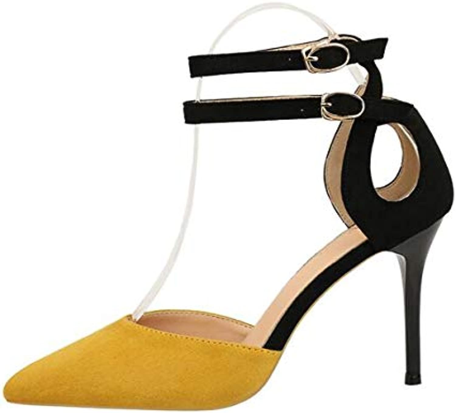 Women shoes Woman Party Ballroom Dance shoes High Heels Ankle Strap shoes