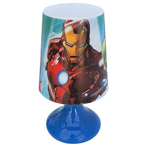 Kids Avengers Lampe Bureau A Piles 18 x 9 cm, Plusieurs