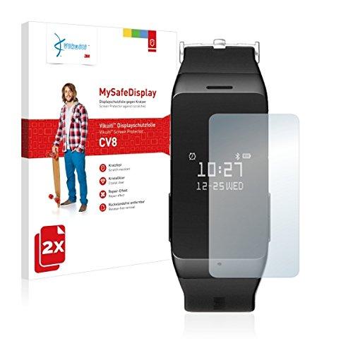 2x Vikuiti MySafeBildschirm CV8 Bildschirmschutz Schutzfolie für MyKronoz ZeWatch 2 (Ultraklar, strak haftend, versiegelt Kratzer)