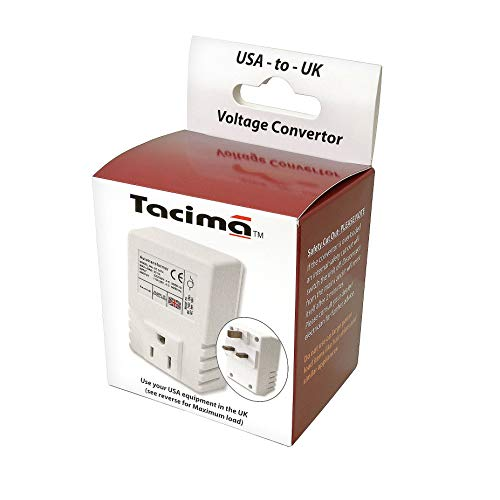 Tacima SC5474W/BP Step Down Voltage Convertor,230/240 Volts down to 110/120...