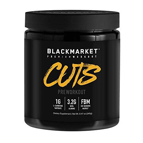 BLACKMARKET CUTS Pre Workout, Watermelon, 30 Servings, 240g