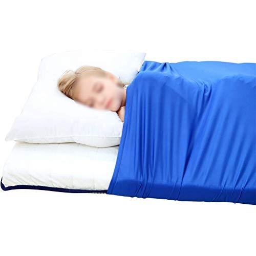 CHICTI Sensory Kompressions Bettlaken Für Kinder & Erwachsene Atmungsaktiv Dehnbar Tiefer Druck Zum Entspannen Und Bequemen Schlafen (Size : 98x147cm/39x58in)