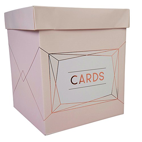 Geo Blush Post Box