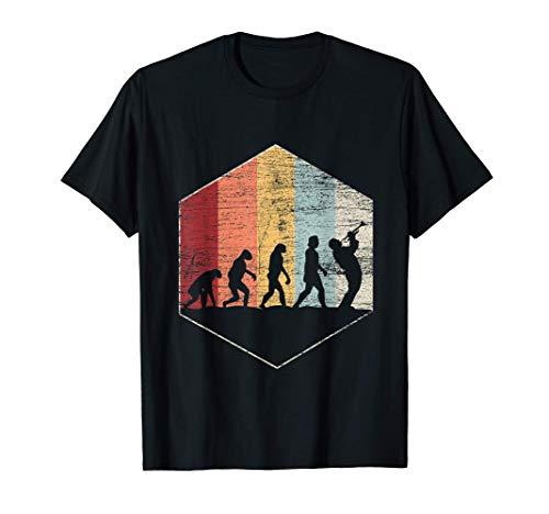 Trompetenspieler Trompeter Musiker Retro Trompete T-Shirt