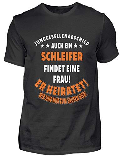Camiseta para hombre JGA bodas Schleifer de regalo profesional divertido con frase – Camiseta para hombre Negro XXL