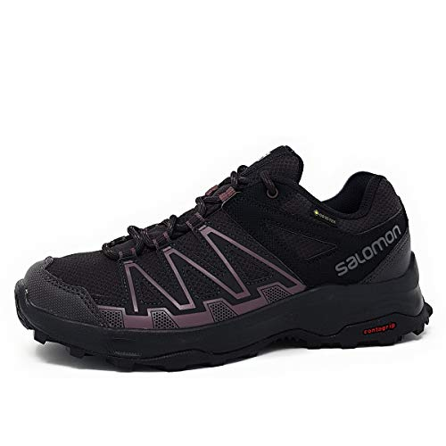 SALOMON Damen Leonis GTX Walking-Schuh, Phantom/Phantom/Flint, 38 EU
