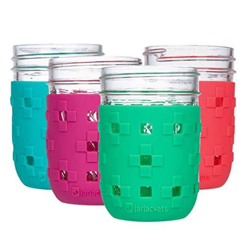 JarJackets Silicone Mason Jar Protector Sleeve