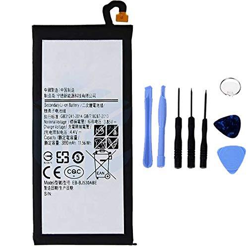 Ellenne - Batería Compatible con Samsung J5 2017 J530 EB-BJ530CBC AD de Alta Capacidad 3000 mAh con Kit de desmontaje Incluido