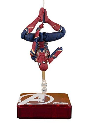 TAMASHII NATIONS Bandai S.H. Figuarts Iron Spider & Tamashii Stage Avengers: Infinity War Action Figure