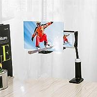 スクリーンアンプ 12インチ折りたたみ式携帯電話スクリーン拡大鏡3DHDスクリーンアンプスタンドブラケット 携帯便利 軽量 目の保護 (Size:12 Inches; Color:Black)