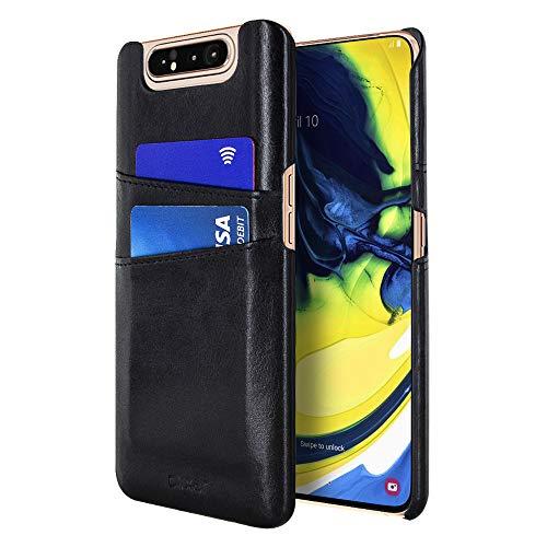 Olixar Coque Samsung Galaxy A80 Farley avec rangements CB Anti-RFID – Noir