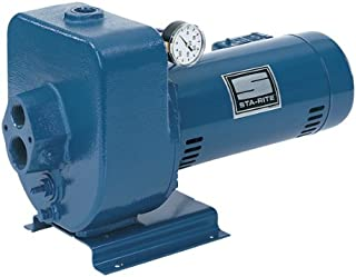 Sta-Rite HMSD 3/4 H.P. 1/115-220V, Horizontal Multi-Stage Deep Well Jet Pump with a 1