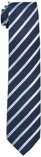 G.O.L. Jungen Krawatte, Diagonal-Stripe, Gestreift, Gr. One size (HerstellergröÃYe: 2), Blau (navy)