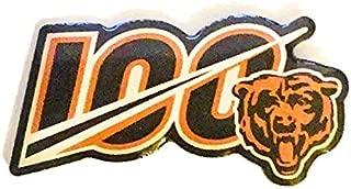 Football Bears PIN NFL 100TH Anniversary Season Lapel PIN 1.35