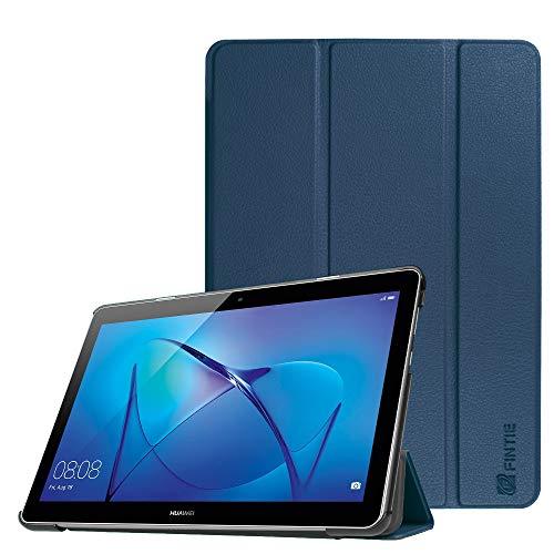 Fintie Hülle Hülle für Huawei Mediapad T3 10 - Ultra Dünn Superleicht Flip Schutzhülle mit Zwei Einstellbarem Standfunktion für Huawei MediaPad T3 (9,6 Zoll) 24,3 cm Tablet-PC, Marineblau