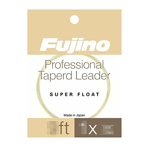 Fujino(フジノ) フライリーダー スーパーフロートリーダー 3X 12FT ナイロン F-5