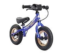 BIKESTAR Kinder Laufrad Lauflernrad Kinderrad für Jungen und Mädchen ab 2 - 3 Jahre ★ 10 Zoll Sport Kinderlaufrad ★ Blau
