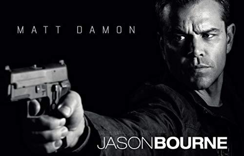 Firefly Arts Jason Bourne 94cm x 60cm 38Zoll x 24Zoll Poster auf Seide - Kunstdrucke