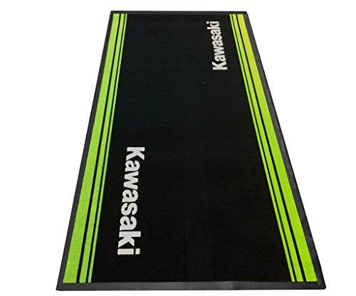 kawasaki Pit MAT Motorrad Teppich Boxen Matte