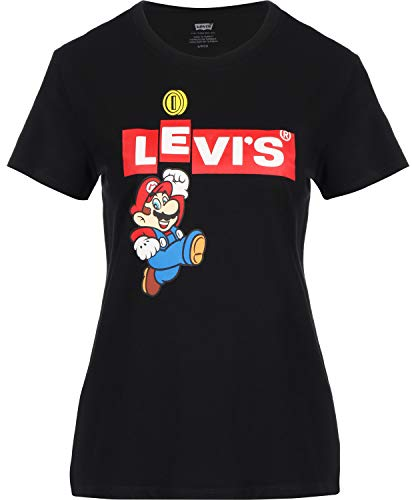 Levis x Super Mario The Perfect Tee WMNS Mario Box Tab M