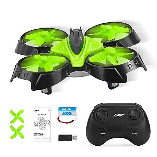 MAFANG Mini Drone con Batterie per Bambini E Principianti Quadricottero RC Drone Giocattolo Economico Modalit Senza Testa con Telecomando Avvio E Atterraggio con Un Pulsante,Verde