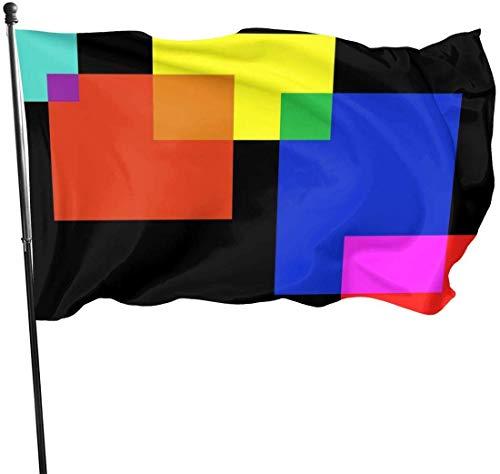 N/A American Guard Vlag Banner Tuin Vlaggen Doos Sjablonen Zomer Warming Yard voor Seizoensgebonden Patio Wanddecoratie 3x5 Ft