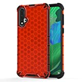 MOYOFEE JYMD Coque PC + TPU AYD antichoccle pour Huawei Nova 5 / Nova 5 Pro (Color : Red)