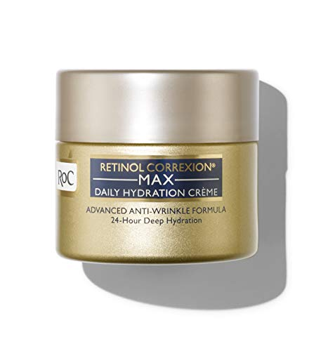 RoC Retinol Correxion Max Daily Hydration Anti-Aging Face Moisturizer with Hyaluronic Acid, 1.7 oz (Packaging May Vary)