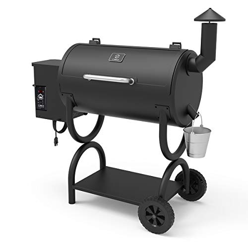 Z GRILLS Wood Pellet Grill Holiday 8-in-1 BBQ Smoker