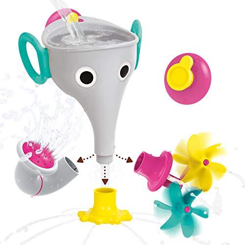 Yookidoo Schöpfspiel Elefant in Grau für die Badewanne