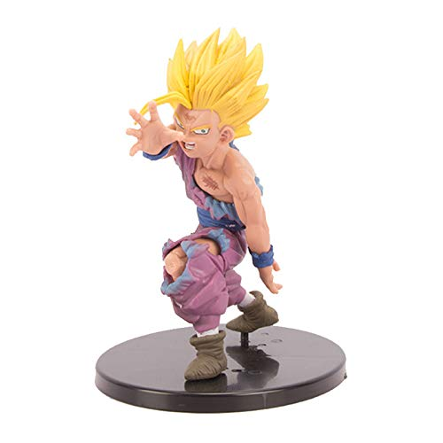 YUY Dragon Ball Super Saiyan Sun Gohan Decoration Ornaments Anime Figures PVC Character Statue Model, Toys Collectible Figures