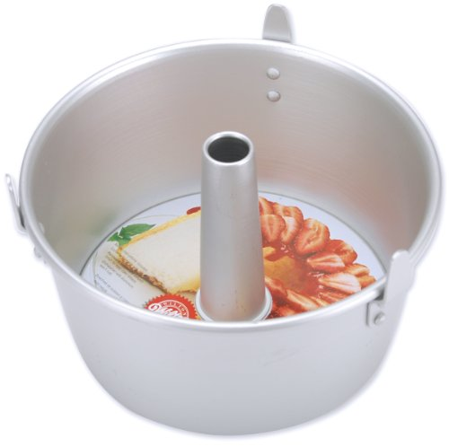 "Wilton Angel Food Cake Pan 7"" x 4.5"" - One Pack Silver"