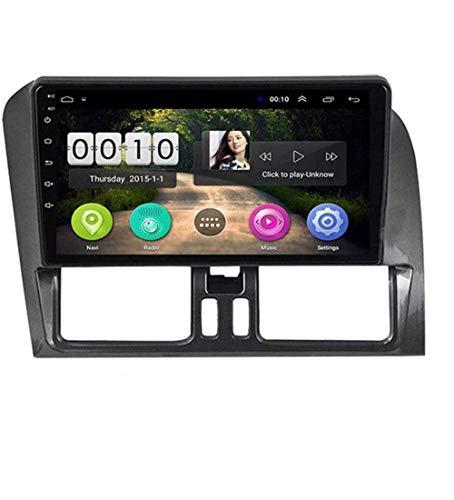 Android 8.1 Navegación GPS Auto Radio 9' 1080P HD Touch Screen Stereo TV para Volvo E 2015-2017 con volante Control Bluetooth Hands-Free Calls,4G + WiFi 4G + 64G