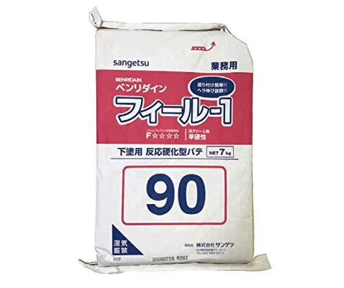 サンゲツ ベンリダイン 石膏ボードの目地処理 総パテ仕上げ剤 フィール-1下塗り用 7kg 90分 BB-540