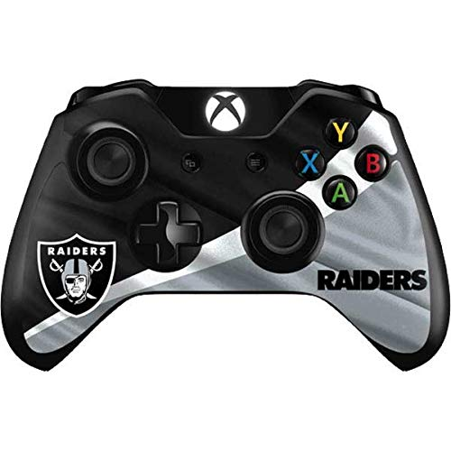 Skinit Decal Gaming Skin Compatible with Xbox One Controller - Officially Licensed NFL Las Vegas Raiders Design