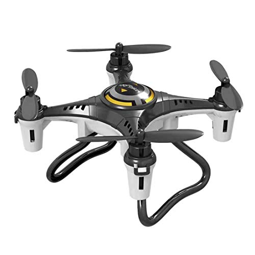heavKin-toy JX815-2 Mini 2.4G 4CH UAV RC Quadcopter RC Drone Helicopter Gyro Headless Mode(Without Aerial Photography) (Black, 14.5x14.5x4 cm)