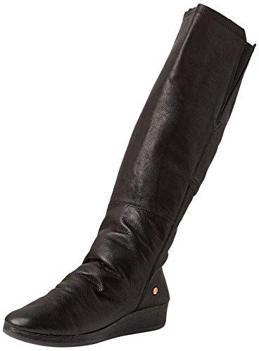 Softinos Damen AXI475SOF Hohe Stiefel, Schwarz (Black 000), 38 EU