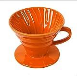 ZXB Cerámica Coffee Dropper para V60 Tazas de café con Soporte Separado Filtro de Goteo Copa...